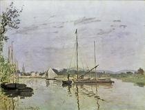 C.Monet, Die Barke, Argenteuil von AKG  Images