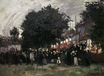 Monet / The Festival of Argenteuil by AKG  Images