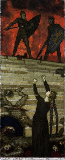 F. v. Stuck, Der Nibelungen Not von AKG  Images