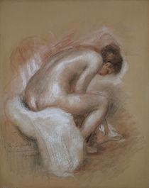 Auguste Renoir, Die Toilette / Zeichnung, um 1890 by AKG  Images