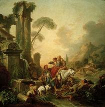 F.Boucher, Rast am Brunnen von AKG  Images