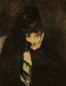 Berthe Morisot in mourning / Manet, 1864 by AKG  Images