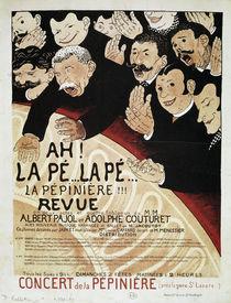 La Pépinière / Plakat von Vallotton von AKG  Images