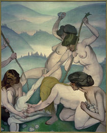 Felix Vallotton, Orpheus und die Mänaden von AKG  Images