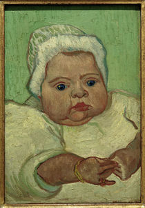 Van Gogh / Portrait of Marcelle Roulin by AKG  Images