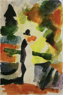 A.Macke, Couple in the park by AKG  Images