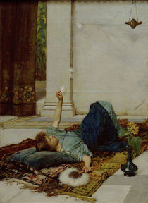 J.W.Waterhouse, Dolce far Niente, 1879 von AKG  Images