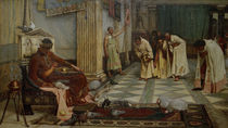 Honorius / Court / Painting / Waterhouse by AKG  Images