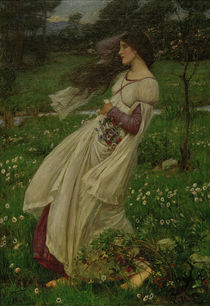 J.W.Waterhouse, Windflowers / painting by AKG  Images