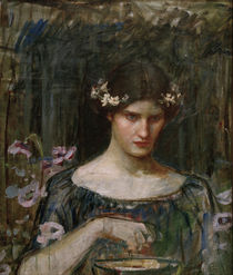 J.W.Waterhouse / Medea / Painting by AKG  Images