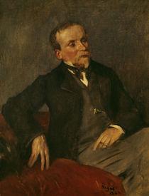 E. de Valernes, Porträt / Gem. v. E.Degas von AKG  Images