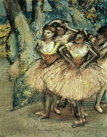 Dancers in Pink / E. Degas / Pastel c.1904 by AKG  Images