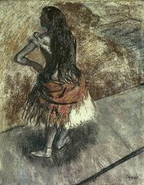 Edgar Degas, Tänzerin / Pastell von AKG  Images
