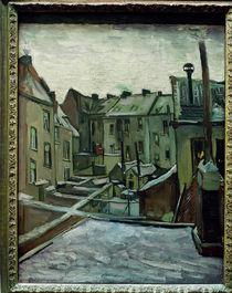 v. Gogh, Hinterhöfe in Antwerpern von AKG  Images