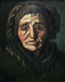 v. Gogh / Peasant woman / Woman w. bonnet/1884 by AKG  Images