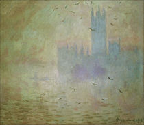 Monet / Parliament (London) / 1900/1901 by AKG  Images
