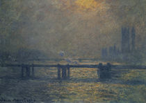 Claude Monet, Charing Cross Bridge von AKG  Images