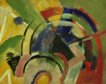 Franz Marc / Small composition IV / 1914 by AKG  Images