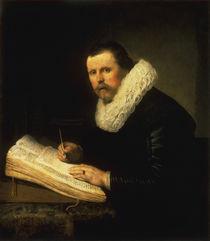 Rembrandt / Portrait of a Scholar by AKG  Images