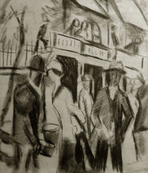 A.Macke / People Strolling along the Street by AKG  Images