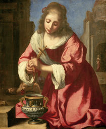 Vermeer / Saint Praxedis / 1655 by AKG  Images