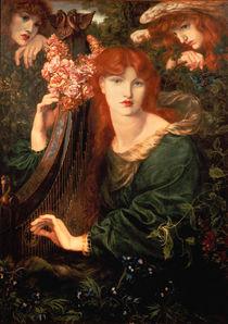 Dante G. Rossetti, La Ghirlandata/ 1873 von AKG  Images