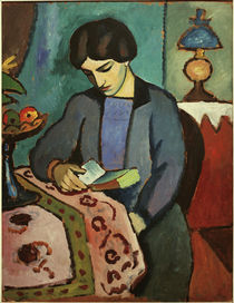 August Macke, Wife of the artist by AKG  Images