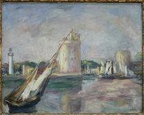 Renoir, L'Entree du port de La Rochelle von AKG  Images