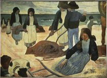 Gauguin, Breton Seaweed Collector by AKG  Images