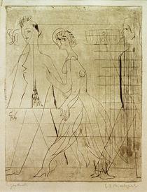Ernst Ludwig Kirchner, Street scene by AKG  Images