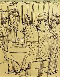 E.L.Kirchner, Am Caféhaustisch von AKG  Images