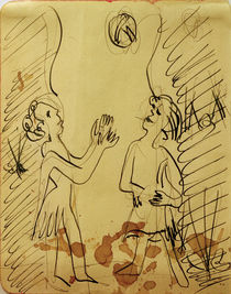 Ernst Ludwig Kirchner, Two girls playing ball by AKG  Images
