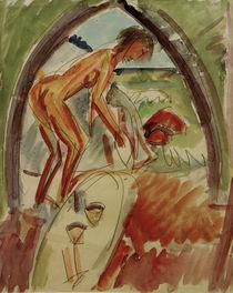 E.L.Kirchner, Akt im Bogen von AKG  Images