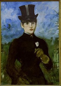 E.Manet, Amazon, blue background by AKG  Images