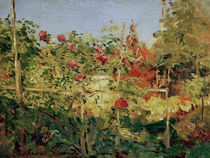 G.Caillebotte, Jardin à Trouville by AKG  Images