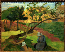 Gauguin / Landscape with Breton Women by AKG  Images