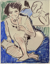E.L.Kirchner / Dodo Sitting and Holding by AKG  Images