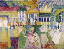 Kandinsky / Ladies in Crinolines / 1909 by AKG  Images