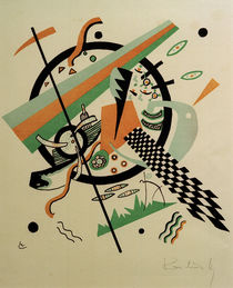 W.Kandinsky, Small Worlds IV by AKG  Images