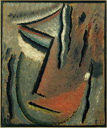 A. v. Jawlensky, Abstr. Kopf: Stummer Schm. von AKG  Images