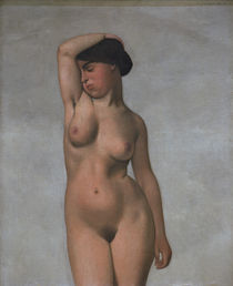 F.Vallotton / Female nude with raised arm by AKG  Images