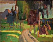 Kandinsky / Summer landscape / 1908 by AKG  Images