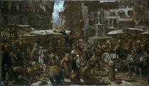 A. v. Menzel, Piazza d'Erbe zu Verona/1884 von AKG  Images