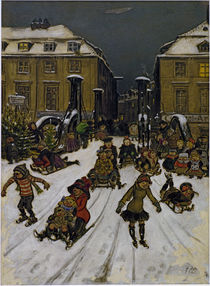 Zille / Joys of Winter / Berlin / 1911 by AKG  Images