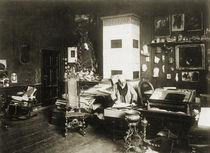 Adolph von Menzel im Atelier / Foto von AKG  Images