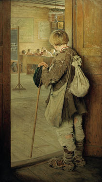 At the School Doorl / N. Bogdanov-Belsky / Painting, 1897 by AKG  Images