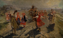 "Vladimir Makovsky / ""Wedding Procession in the Orel Region"". by AKG  Images"