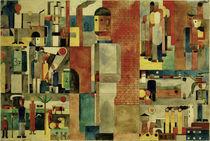 Franz Weibert Seiwert / Welt der Arbeit / Watercolour. by AKG  Images