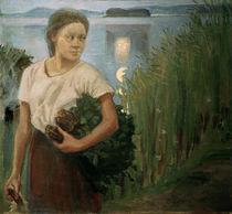 A.Gallen-Kallela, Das Sauna-Mädchen von AKG  Images