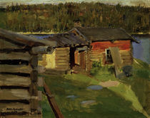 Akseli Gallen-Kallela, The Farm at Ekola at Twilight by AKG  Images